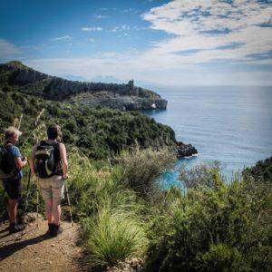 Spekatukäre Steilküste an der Costa di Maratea
