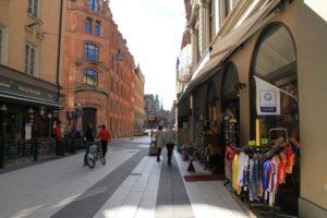 Mit dem Rad durch Stockholm ...