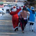 Es gibt viel Spaß auf der Strecke, aber auch echte Wettkampf-Mentalität – hier lässt es sich bestens mit den russischen Läufern angehen
