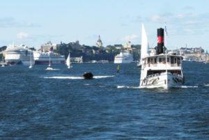 ... und auf Bootstouren Stockholm vom Wasser aus entdecken
