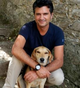 Roberto Gallotti mit Schlosshund