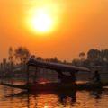 Abendstimmung auf dem Dal-See in Srinagar