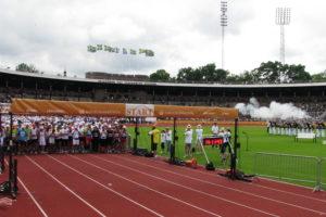 Gern denken wir an den Jubiläumsmarathon 2012 zurück - hier der Start!
