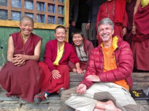 Jörn Materne zu Gast bei den Nonnen der Lungdang Gompa