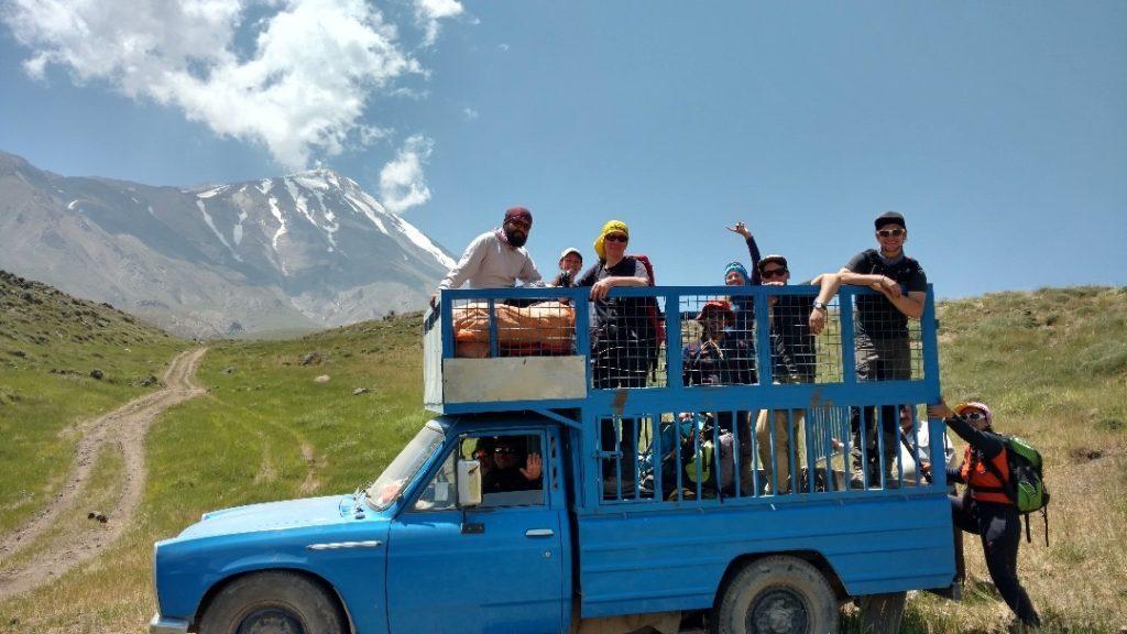 Einsteigen bitte! Wir hatten eine großartige Zeit und bestes Gipfelwetter.