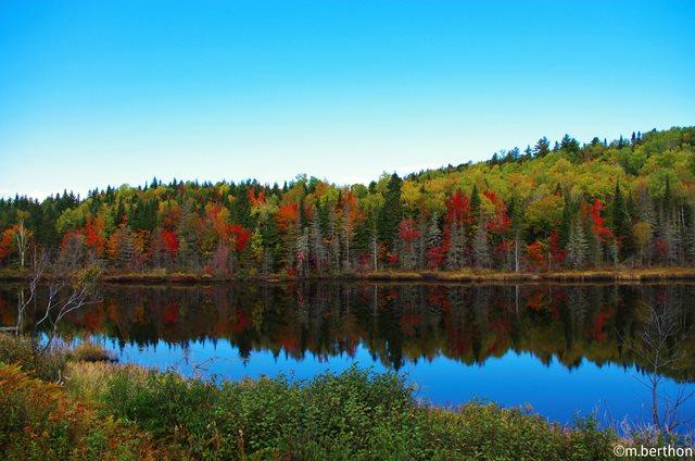 Québec birgt eine spektakuläre Farbenvielfalt und einsame Landschaften