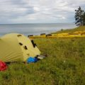 Russland - Baikalsee - Zelt