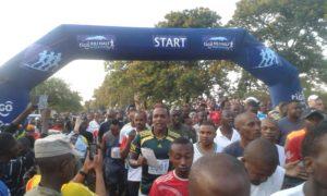Über 5000 Teilnehmer allein beim Halbmarathon