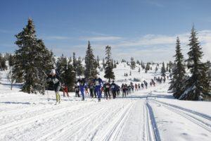Der legendäre Birken führt von Rena in den Olympiaort Lillehammer