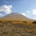 Blick auf den Götterberg der Massai – El Doinyo Lengai