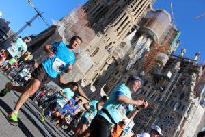Entlang der Sagrada Familia