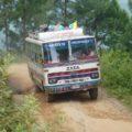 Straßen in Nepal: meist eher Pisten