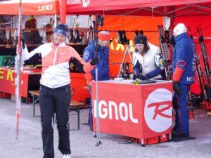 Testen nach Herzenslust: Skimaterial renommierter Hersteller