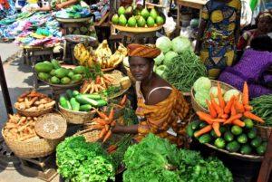 Marktszene in Lomé