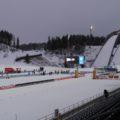 Start und Ziel des Finlandia Hiihto: die WM Arena in Lahti