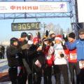 Extremtemperaturen vor einigen Jahren für unsere Läufer – aber alle schafften die Halbmarathondistanz!