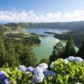 Genießen Sie einzigartige Blicke über die riesige Caldera von Sete Cidades