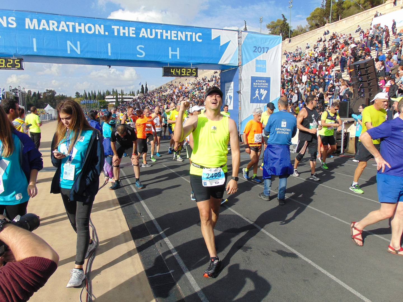 athen marathon 2018