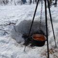 Nie schmeckt die Suppe besser als am Lagerfeuer