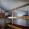 In manchen Hütten gibt es Gemeinschaftsunterkünfte