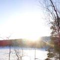 Herrliches Winterpanorama