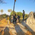 Gelegentlich brechen Sie in Botswana auch zu geführten Safari-Wanderungen auf.