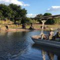 Eine Bootssafari im Chobe-Park bildet den Safari-Ausklang der Reise