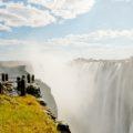 Die Victoriafälle sind natürlich ein Highlight im südlichen Afrika und Ziel unserer Reise