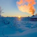Die gemütlichen Hütten in der Finnmarksvidda verfügen jeweils über eine Sauna zum Aufwärmen.