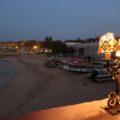 Abendstimmung auf der Insel Gorée, nachdem alle Tagesausflügler wieder auf dem Festland sind.