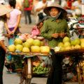 Straßenszene in Vietnam