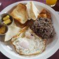 Gallo pinto, das typische Essen in Costa Rica