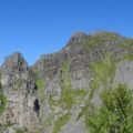 Diesen Berg geht es hinauf- der Festvågtinden