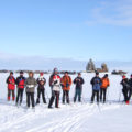 """Auch im Winter sind unsere Gruppen in Russland unterwegs. Wie hier auf der Reise """"Skiwandern im Herzen Russisch-Kareliens"""", die bereits seit 2006 bei uns im Programm ist. www.schulz-aktiv-reisen.de/RUS45"""