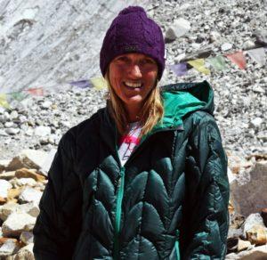 Bergsteigerin und Journalistin Billi Bierling