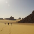 Über weite Dünenfelder geht es durch beeindruckende Landschaft