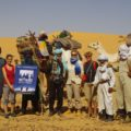 Kameltrekking in der Sahara