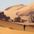Wandern durch spektakuläre Dünenlandschaften