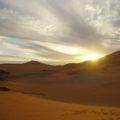 Am Abend genießen Sie spektakuläre Sonnenuntergänge