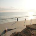 Am Strand von Fins