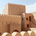 Alte Forts, teils restauriert, findet man im Oman in jeder Stadt