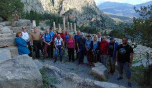 Delphi: Am Tempel des Apollon