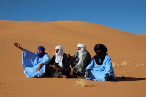 Unterwegs mit den Tuareg