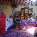 Das Innere des Mönchsklosters bestaunen - auf Sri Lanka