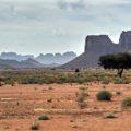 Unglaubliche Landschaften der Wüste