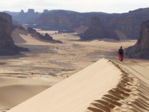 Die Weite der Wüste erlaufen