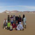 schulz-Wandergruppe in der Sahara