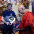 Besuch im Mönchskloster