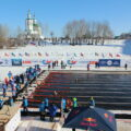 Winterschwimmen in Russisch-Karelien